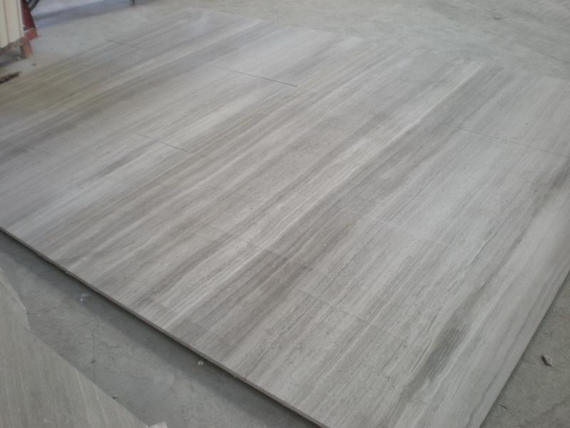 Grey Wood Vein Marble Tiles Bathroom China Mosaic China Stone China