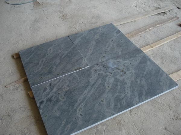 Tile over torn sheetrock