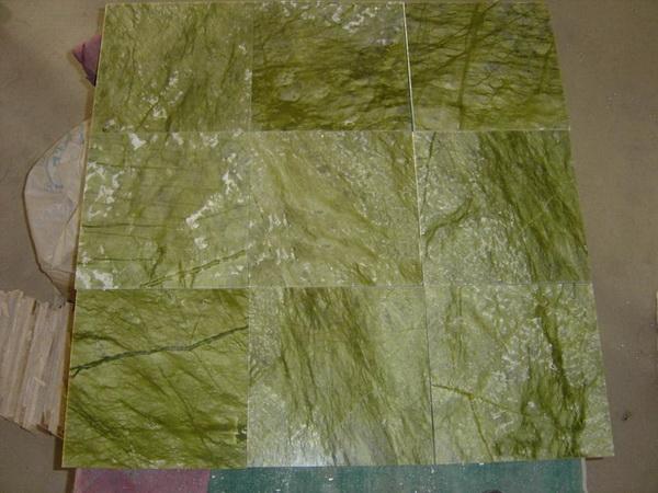 Verde Ming Marble Bathroom China Mosaic China Stone